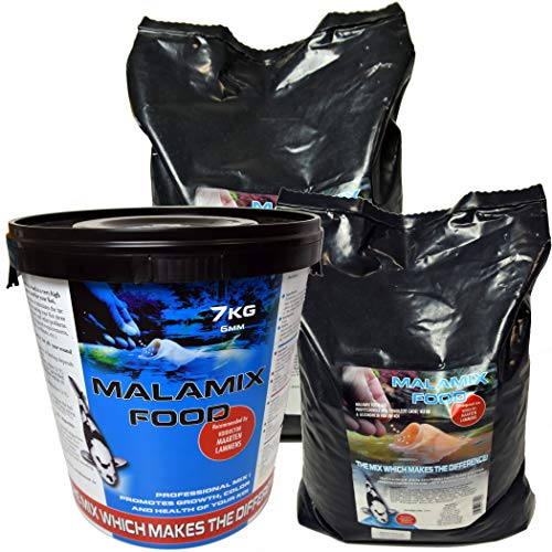 Malamix Koifood von Dr. Lammens - Hochwertiges Koifutter Fischfutter Ø6 mm (schwimmend) für Wachstum & Farbe ab 8°C - 10 kg Sackware