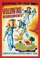 "Voluntad de Resurgimiento Fineアートキャンバス印刷( 20"" x30"" )"