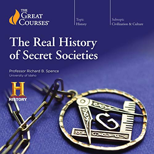 Page de couverture de The Real History of Secret Societies
