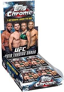TOPPS 2018 UFC CHROME T/C BOX 24pc
