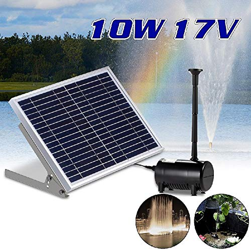 1350L / H High-power Solar Fontein for Garden Villa Pond Pool Decoration Bird Bath Solar Watering Fontein Waterval Pomp 17V 10W