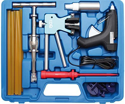 BGS 865 | Profi-Ausbeul-Werkzeug-Satz | inkl. 9 Ausbeul-Pads verschiedener Größen und Formen