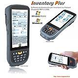 INVENTORY PLUS WiFi, Software professionale programma di Inventario, magazzino, per Palmari Windows Mobile, Windows CE, Pocket PC, memorizza codice quantita lotto