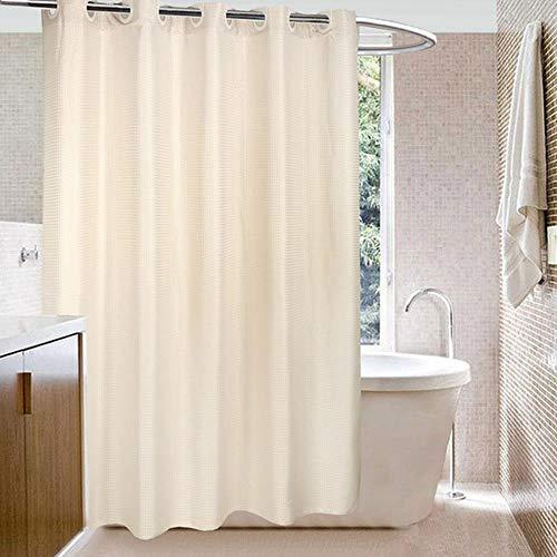 cortinas transparentes baño