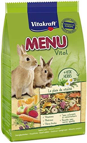 Vitakraft Menu Alimentation complète pour lapins -...