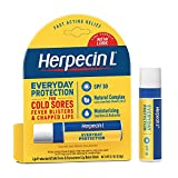 Herpecin L Lip Balm Stick, SPF 30 & Lysine, Multi, Lemon, 0.1 Oz