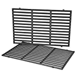Stanbroil 19.5 Inch Cast Iron Cooking Grates Fit Weber Genesis 300 Series E310 E320 E330 S310 S320 S330 EP310 EP320, Replacement Parts for Weber 7524 7528