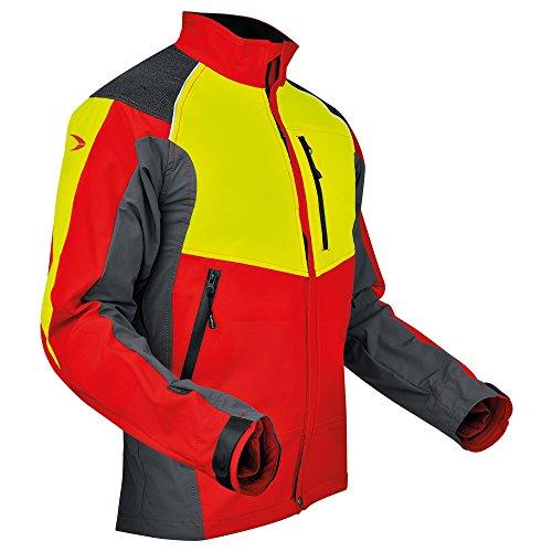 Pfanner atmungsaktive Funktionsjacke mit Stretch und robusten Aramid-Fasern, Größe:S, Farbe:gelb