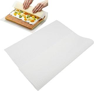 Tapete de silicona para sushi, estilo japonés, para hacer sushi, para pasteles, sushi y horno, respetuoso con el medio ambiente Tamaño libre blanco