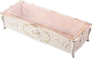 1pc Drain Chopsticks Boxplastic Tableware Storage Box Cutlery Organizer Kitchen Cutlery Case(beige)