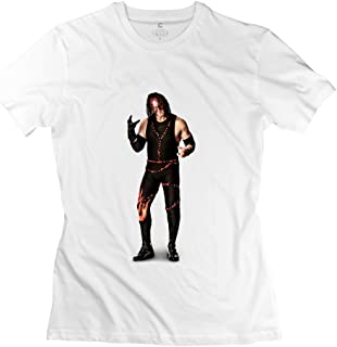 StaBe Female Wwe Kane Undertaker T-Shirt Slim Fit Geek L White