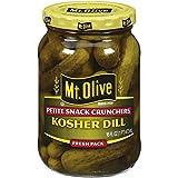 Mt. Olive Petite Snack Crunchers, Kosher Dills, 16 FL Oz