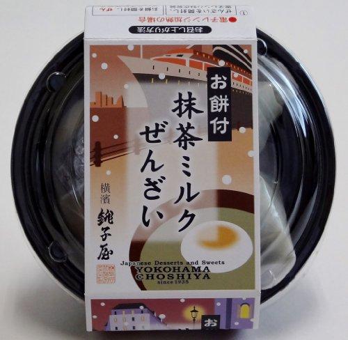 横濱銚子屋抹茶ミルクぜんざい4個セット