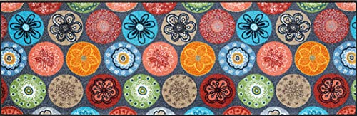 Wash+Dry - Alfombra Coralis 60x180, Colorido