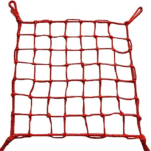 Kids Safety Net Child Protection Net Wall Decoration Net Stairs Balcony Safety Net Retro Bar Decoration Net Width 1m to 3m/ Length 2m To 9m (Size : 2x2M)