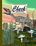 """Check Register Book: Premium Compsognathus Dinosaur Cover Check Register Book, Payment Record Accounting Ledger Book, 120 Pages, Size 8.5"""" x 11"""" by Gilbert Frey"""