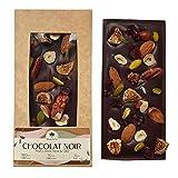 Chocolate Bloom&Cie – Bandeja de chocolate – Chocolate negro – repostería de chocolate – Bio – Confisería – Cacao – 125 g