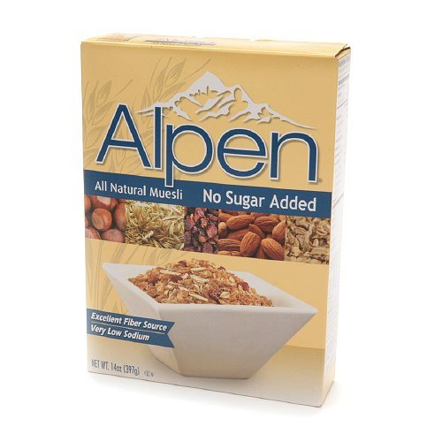 Alpen All Natural Muesli free shipping No Sugar Pack Added oz 4 14 of Sale Special Price