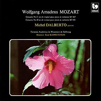 Mozart: Piano Concerto No. 21 in C Major, K. 467 - Piano Concerto No. 24 in C Minor, K. 491