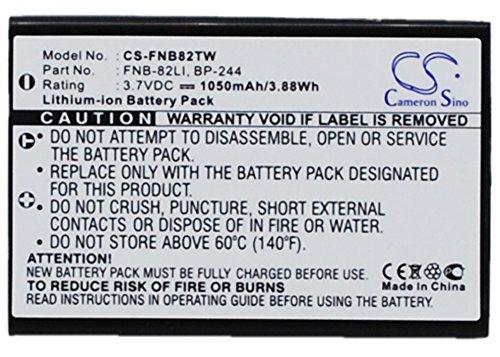 TECHTEK batería sustituye BP-244, para FNB-82LI, para MLB-1000 Compatible con [DYNASCAN] AD-09, para [MAAS] AHT-7, para [IWATSU] DC-PS8, para [ICOM] IC-RX7, para [INTEK] KT-950EE, LN-950, para [SYSTE
