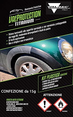 Walmec VAE PROTECTION TITANIUM RAVVIVANTE PROTETTIVO PLASTICA, Trasparente