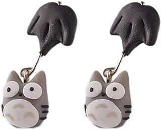 New Handmade Dog Cat Pig Mario Piranha Plant Cute Animal Earring Stud Earrings for Women