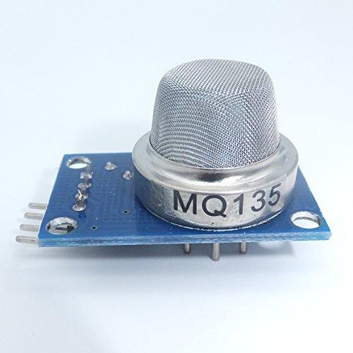 jdhlabstech Módulo MQ135 Sensor De Calidad del Aire detección de NH3 NOX Benceno CO2