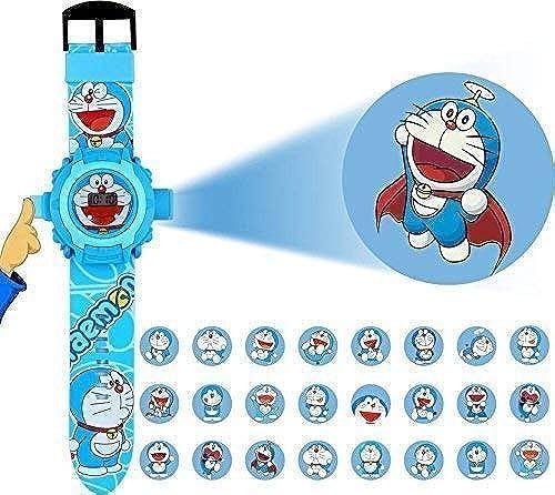 Fashramp Doraemon Projector Watch Digital Blue