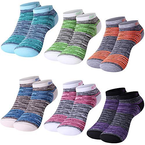 L&K-II 12 Paar Bambus Damen Sneaker Socken Füßlinge 92209 39/42