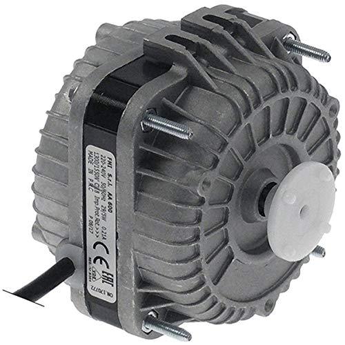 ELCO Motor de ventilador VN5-13/249 para Horeca-Select GRE1600, 230 V, 5 W, 1300 rpm, 50/60 Hz, cable de conexión de 1430 mm, 3 opciones de fijación