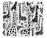 Rotho Babydesign Wickelauflage Happy Family, Ab 0 Monate, TOP, 85 x 72, Schwarz/Weiß, 20062 0001 CW