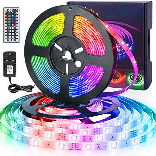 Tira de LED, IP65 resistente al agua 10M iluminación de tira, con el 44-Key teledirigido infrarrojo, adecuado for la familia/Club/Bar/Fiesta de Navidad/luces de la decoración WDDT