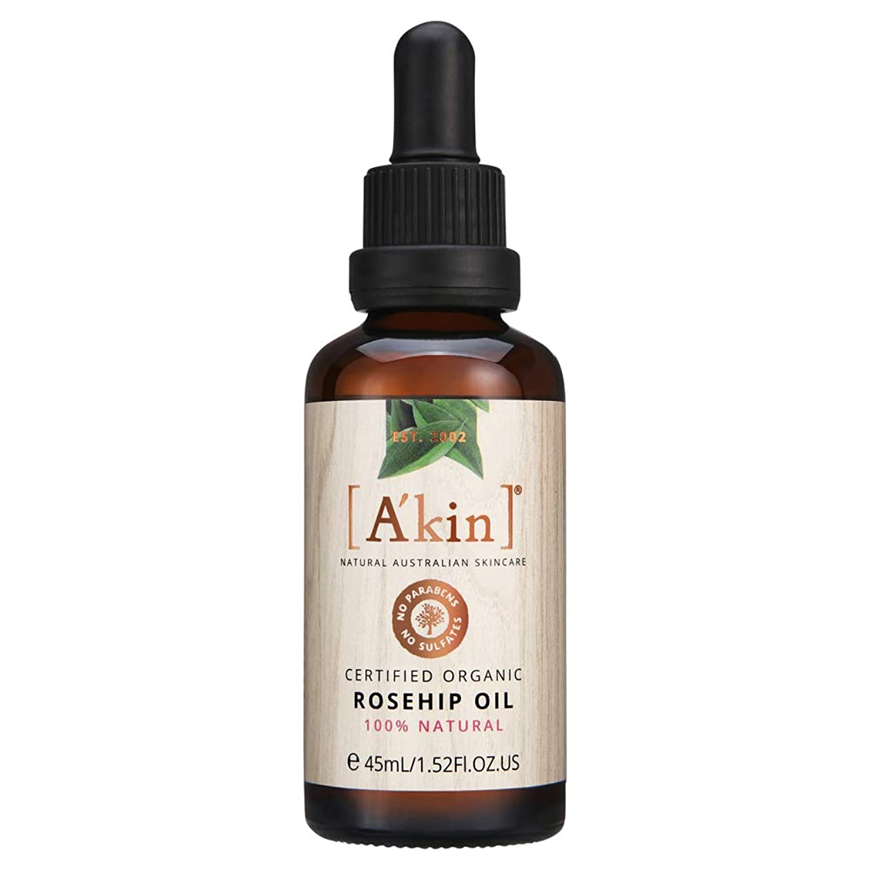 理解する違反するトレードA'kin (エイキン) エイキン 美容オイルRH 美容液 ローズヒップの香り 45ml