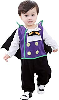 Baby Halloween Gothic Vampire Costume Boys Dracula Toddler Outfits Count Cutie Animal Cosplay