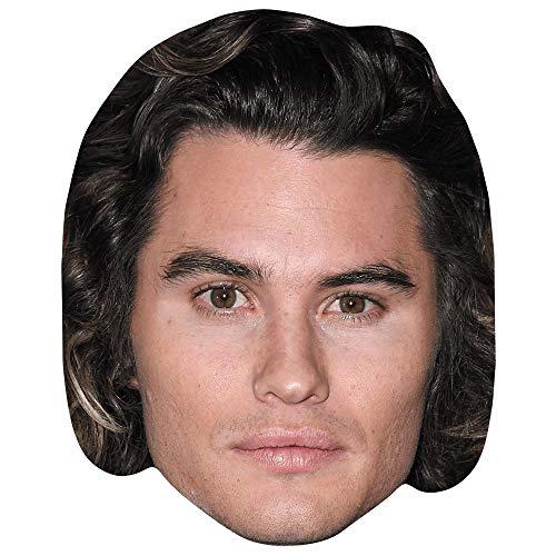 Celebrity Cutouts Chase Stokes (Long Hair) Maske aus Karton