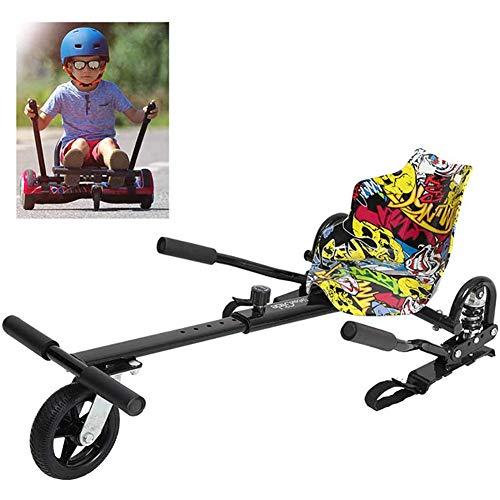 MYLW Hoverkart Hoverboard Asiento Kart Asiento Kart para patín eléctrico Compatible con...