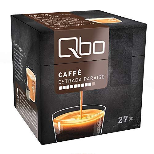 Tchibo Qbo Caffè Estrada Paraíso Kapseln, 216 Stück – 8 x 27 Kapseln (Kaffee, zart und karamellig)