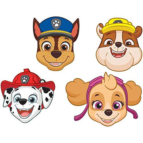 Amscan International 9903839 Kostuum Accessoires, Papier Maskers Paw Patrol 2018
