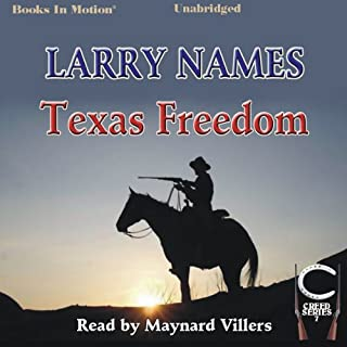 Texas Freedom audiobook cover art