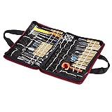 Vktech Culinary Carving Tool Set Fruit/vegetable Garnishing/cutting/slicing Set Garnish Tool Set (46pcs)