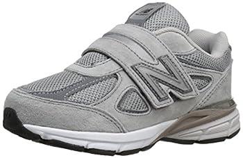 New Balance Kid s Made 990 V4 Sneaker Grey/Grey 2 M US Little Kid