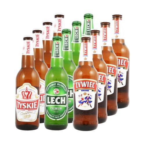 Go-beer Auswahl polnisches Bier Set 12 Flaschen Go-beer.com