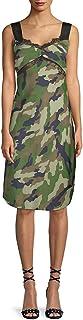 Kendall  Kylie Damen Camo Slipdress Legeres Abendkleid