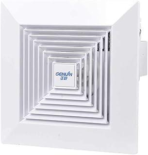 Ventilador Ventilador baño Cocina Pared Ventana Ventilador Potente silencioso Extractor de Aire (Size : 246 * 246mm)