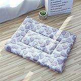 TAO Chambres de chien de chien de chien, couvertures épaisses pour animaux de compagnie en hiver, chenils de dessin animé pour animaux de compagnie, tapis de couchage chauds pour chiens avec coton cou