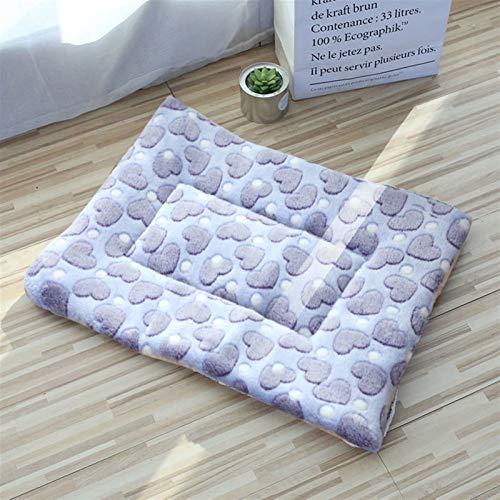 XU TAO Haustierhundmatten Hundebetten, Dicke Decken für Haustiere im Winter, Cartoon-Zwinger für Haustiere, warme Schlafmatten für Hunde mit Baumwollquilts (Color : 11, Size : 1 36x30cm)