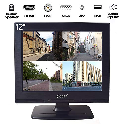 Buy Bargain 15 Professional CCTV Monitor VGA HDMI AV BNC, 4:3 HD Display (LED Backlight) LCD Securi...
