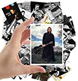 Large Stickers (24pcs 2.5'x3.5') JOHNNY CASH Country Folk Rock Music Posters Photos Vintage Magazine covers