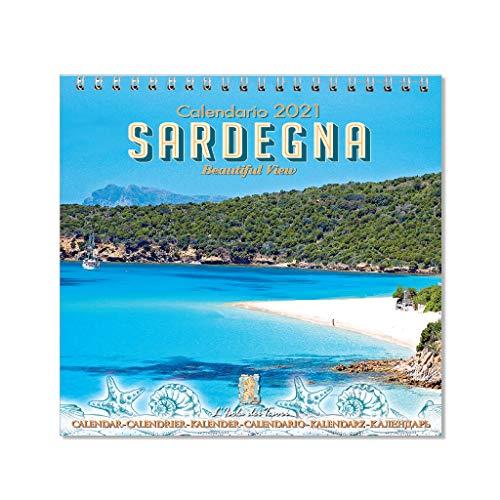 Calendario da tavolo Sardegna 2021 f.to 11 x 11 cm (mod.03)