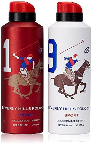 Beverly Hills Polo Club Desodorante para Hombre, 2 x 175 ml
